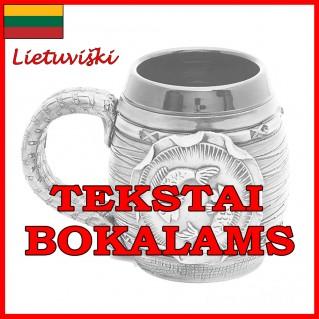 Tekstai bokalams lietuviški