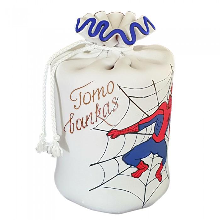 Taupyklė berniukams su piešiniu žmogus-voras